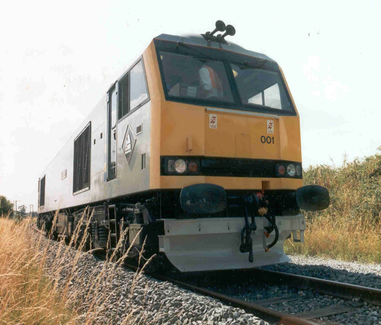 Image showing 60001 at the Old Dalby test track in 1990