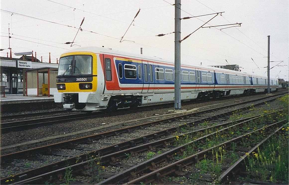 Image showing 365501 standing at Newark en route to York