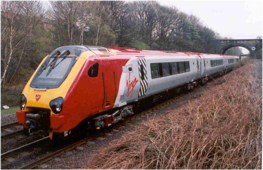 Image showing 221106 at Calder Bridge Jcn. between Crofton and Wakefield Kirkgate en route to Edinburgh in the summer of 2002