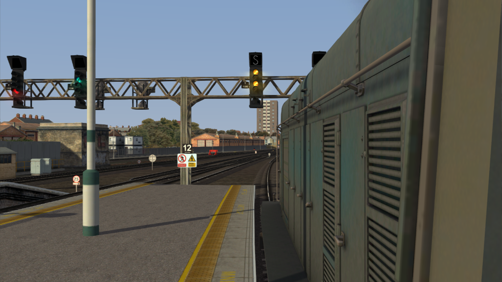 Image showing screenshot of a Class 20 locomotive as seen in the Armstrong Powerhouse Class 20 Pro Sound Pack