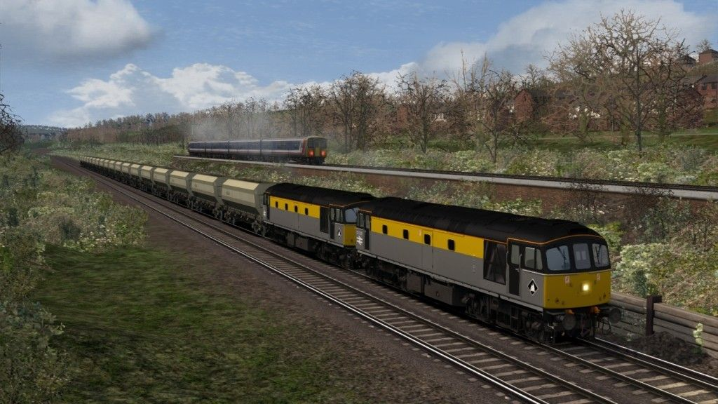 Image showing screenshot of a Class 33 locomotive as seen in the Armstrong Powerhouse Class 33 Pro Sound Pack