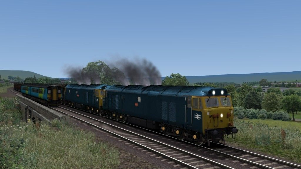 Image showing screenshot of a Class 50 locomotive as seen in the Armstrong Powerhouse Class 50 Pro Sound Pack