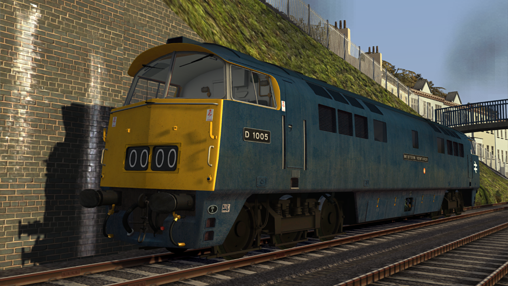 Image showing screenshot of a Class 52 locomotive as seen in the Armstrong Powerhouse Class 52 Pro Sound Pack