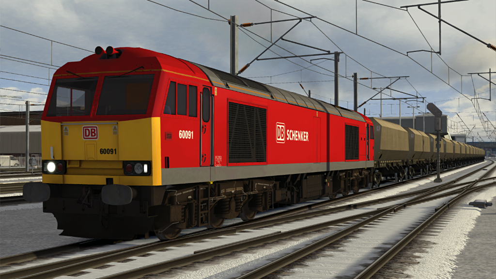 Image showing screenshot of a Class 60 locomotive as seen in the Armstrong Powerhouse Class 60 Pro Sound Pack
