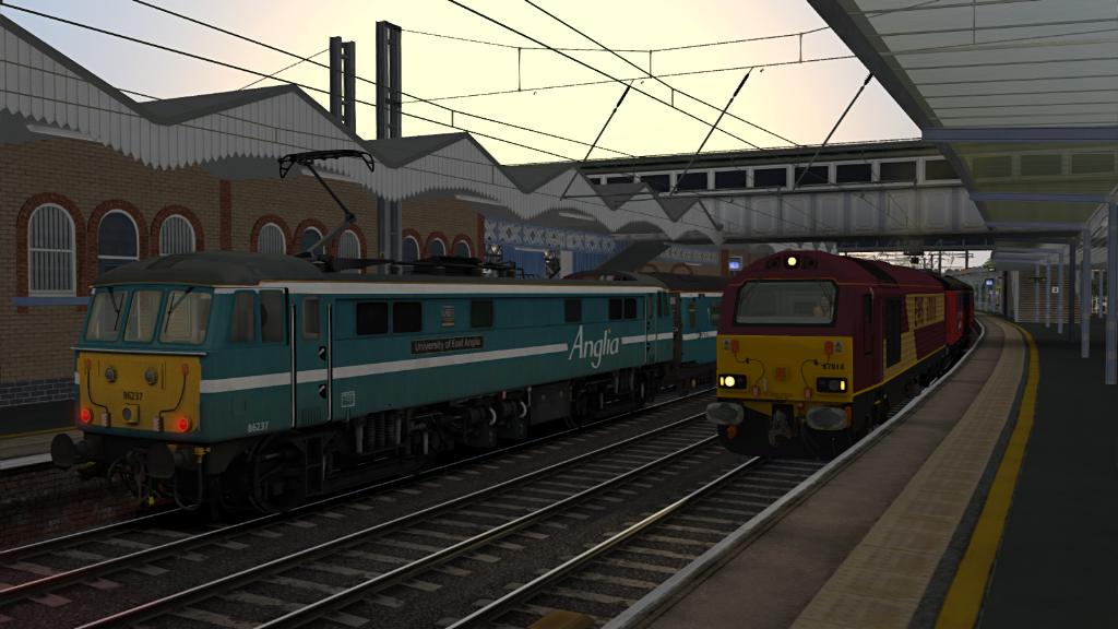 Image showing screenshot of a Class 67 locomotive as seen in the Armstrong Powerhouse Class 67 Pro Sound Pack