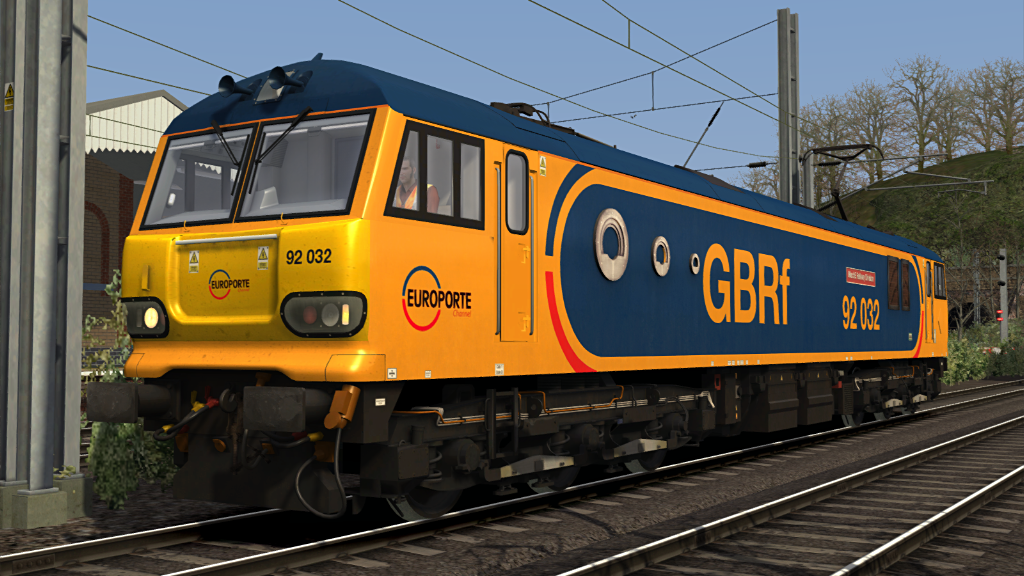Image showing screenshot one of the liveries seen in the Armstrong Powerhouse Class 92 Sound Pack
