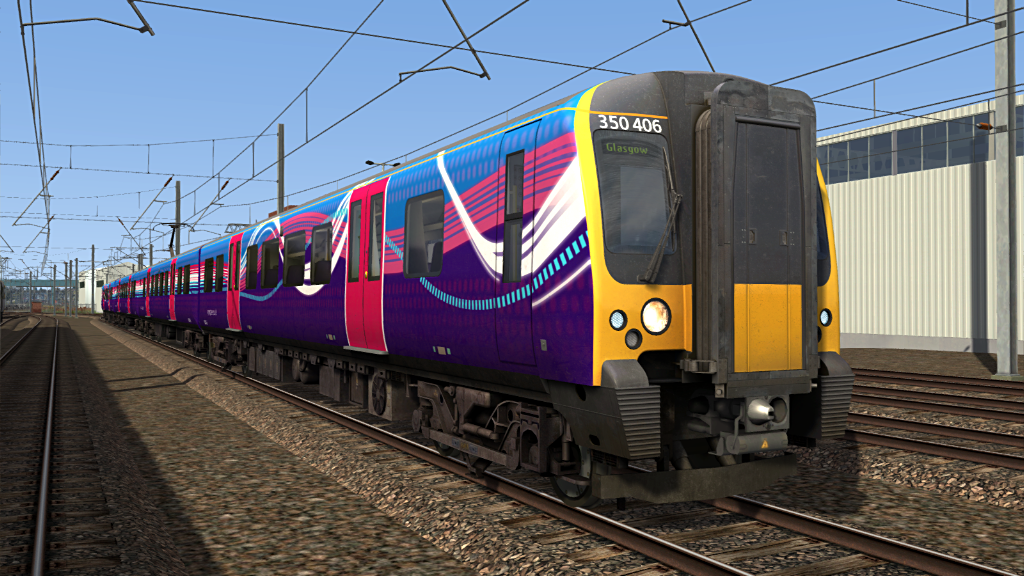 Image showing screenshot of one of the liveries featured in the Armstrong Powerhouse Class 350 Enhancement Pack