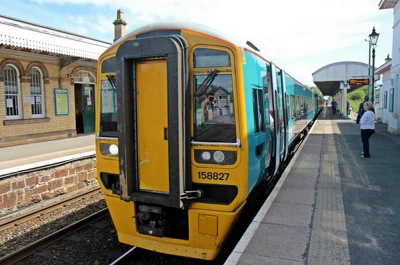 Image showing Arriva Trains Wales Class 158 train