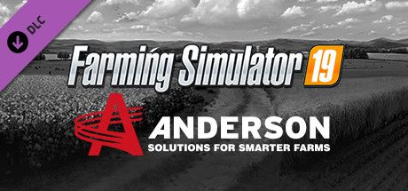 Clickable image taking you to the Steam store page for the Anderson Group Equipment Pack DLC for Farming Simulator 19
