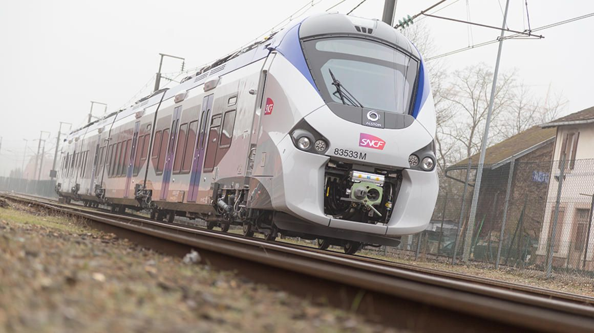 Image showing SNCF Alstom Coradia train