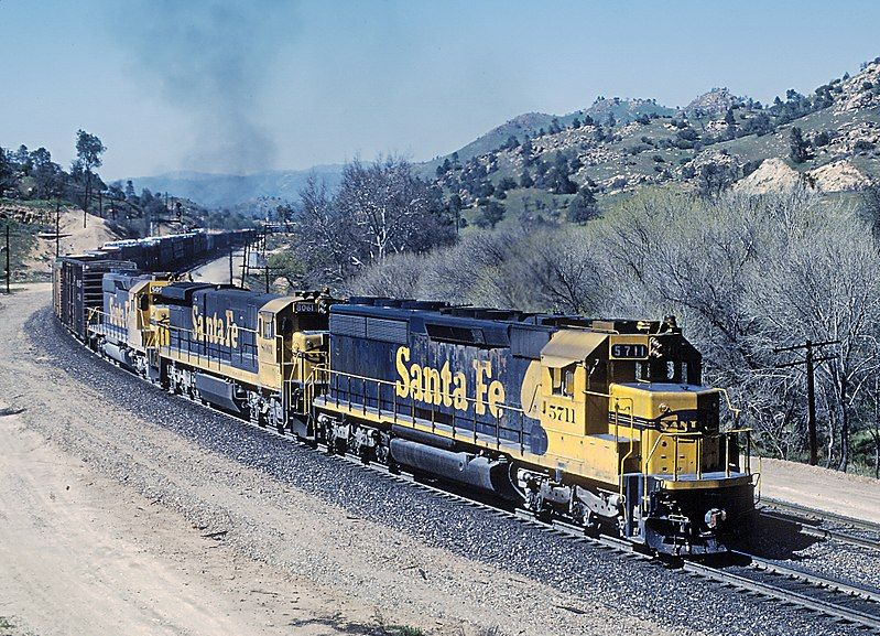 Image showing a EMD SD45-2 locomotive