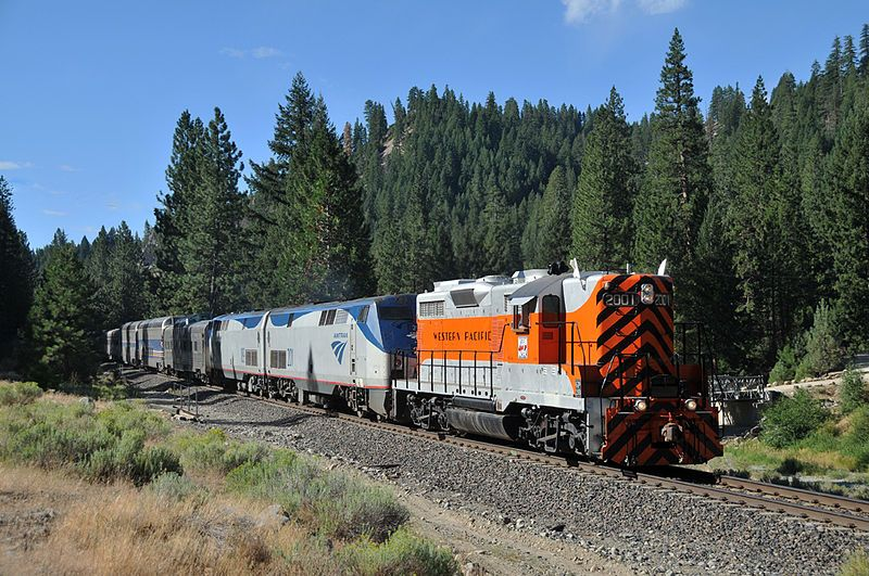 Image showing a Western Pacific liveried EMD GP20