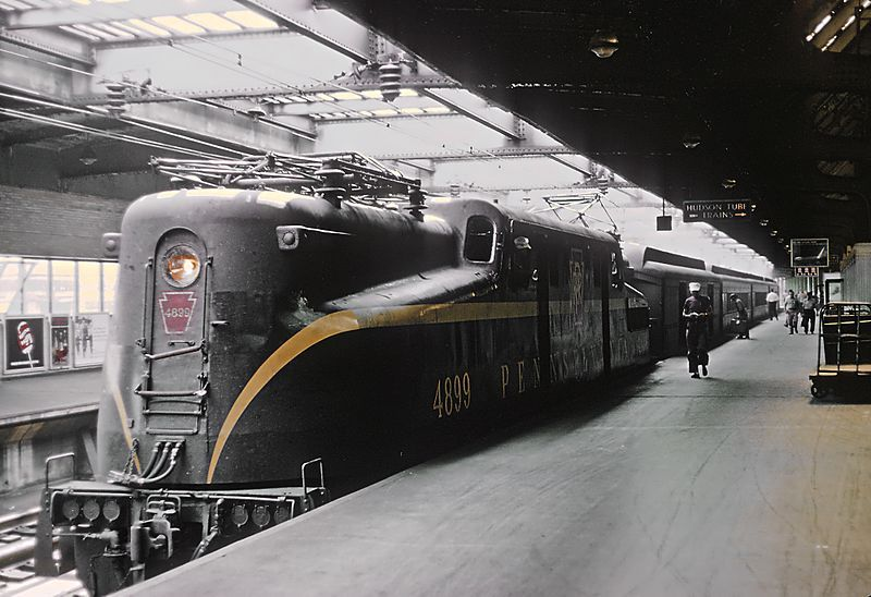 Image showing PRR GG1 locomotive