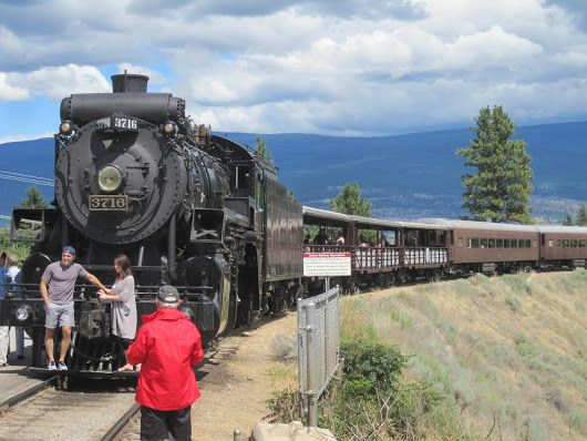 Image showing Kettle Valley 3716 at Canyon View Siding