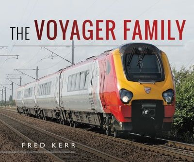 Image showing the cover of The Voyager Family by Fred Kerr