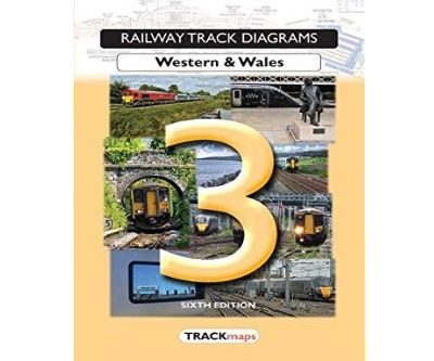 Image showing the cover of Quail Track Diagrams Book 3: Western & Wales