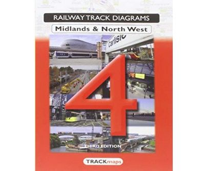 Image showing the cover of Quail Track Diagrams Book 4: Midlands & North West