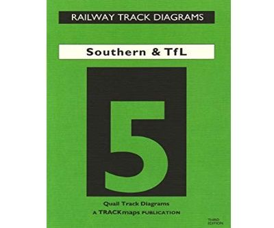 Image showing the cover of Quail Track Diagrams Book 5: Southern and TfL