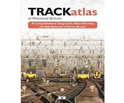 Image showing the cover of TRACKatlas of Mainland Britain by Mike Bridge