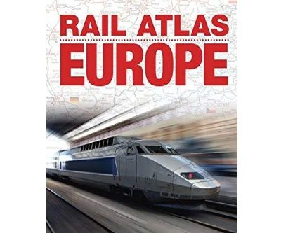 Image showing the cover of Rail Atlas Europe