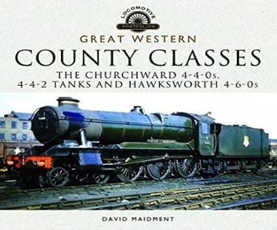Image showing the cover of Great Western, County Classes by David Maidment