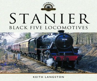 Image showing the cover of Stanier: Black Five Locomotives by Keith Langston