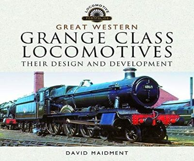 Image showing the cover of Great Western Grange Class Locomotives by David Maidment