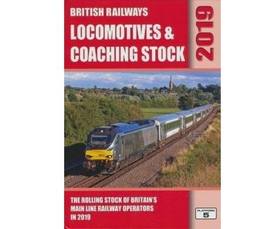 Image showing the cover of British Railways Locomotives & Coaching Stock - 2019