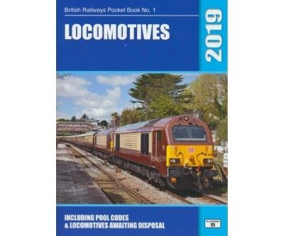 Image showing the cover of British Railways Locomotives Pocket Book - 2019