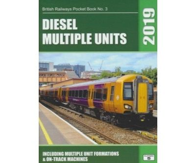 Image showing the cover of British Railways Diesel Multiple Units Pocket Book - 2019