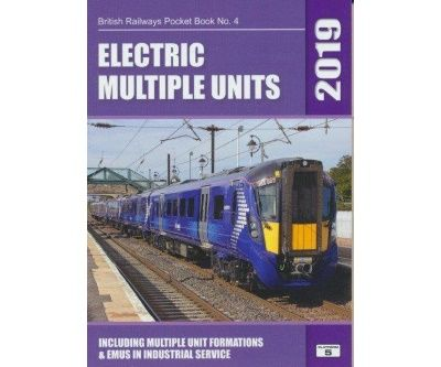 Image showing the cover of British Railways Electric Multiple Units Pocket Book - 2019