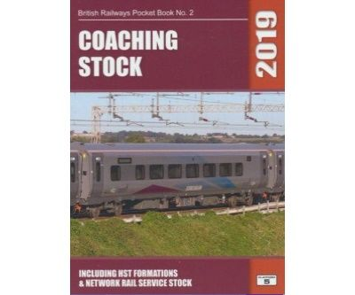 Image showing the cover of British Railways Coaching Stock Pocket Book - 2019