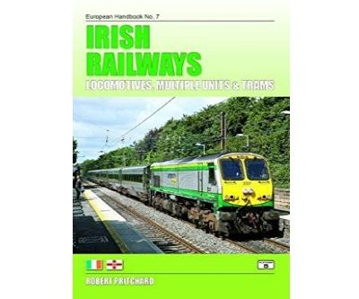 Image showing the cover of Irish Railways: Locomotives, Units and Trams by Robert Pritchard