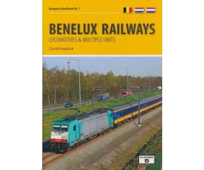Image showing the cover of Benelux Railways: Locomotives & Multiple Units by David Haydock
