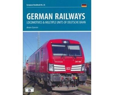 Image showing the cover of German Railways Part 1: Locomotives & Multiple Units of Deutsche Bahn