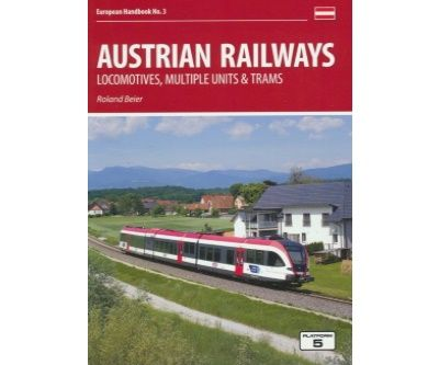 Image showing the cover of Austrian Railways: Locomotives, Multiple Units and Trams