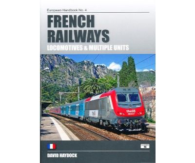 Image showing the cover of French Railways: Locomotives and Multiple Units by David Haydock