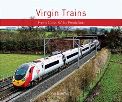 Image showing the cover of Virgin Trains: From HST to Pendolino by John Balmforth