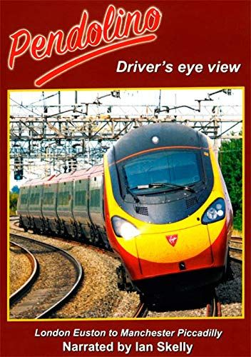 Image showing the cover of the Pendolino: London Euston to Manchester Piccadilly driver's eye view film