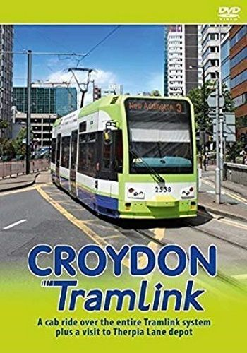 Image showing the cover of the Croydon Tramlink driver's eye view film