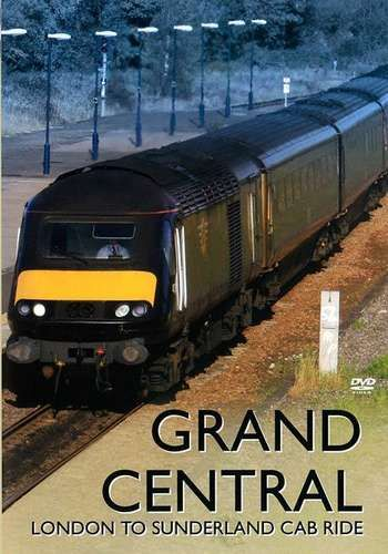 Image showing the cover of the Grand Central - London To Sunderland driver's eye view film