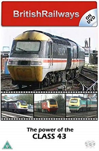 Image showing the cover of the BritishRailways on DVD - Power of the Class 43 film