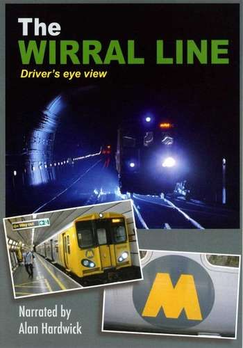 Image showing the cover of the Wirral Line driver's eye view film