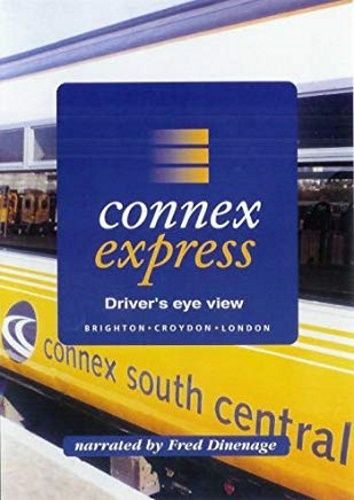 Image showing the cover of the Connex Express: Brighton to London Victoria driver's eye view film