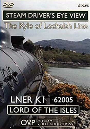 Image showing the cover of the Kyle of Lochalsh Line steam driver's eye view film