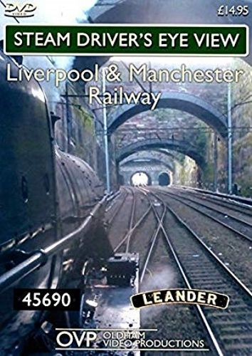 Image showing the cover of the Liverpool & Manchester Railway steam driver's eye view film