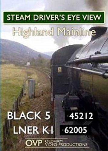 Clickable image taking you to the Highland Mainline steam Driver's Eye View