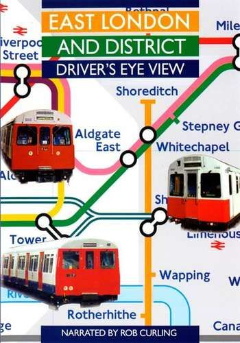 Image showing the cover of the East London and District driver's eye view film