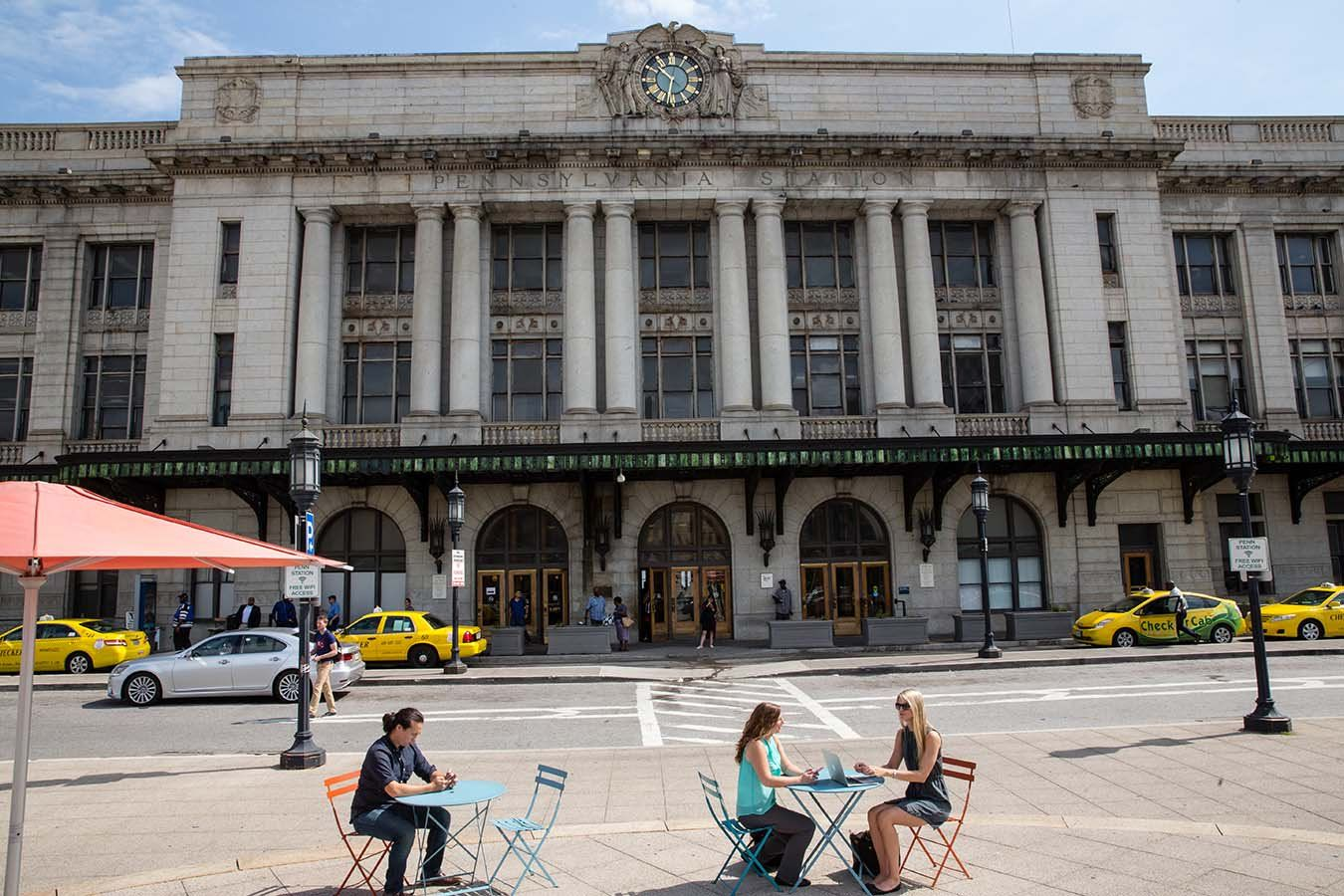 Image showing frontage of the historic Baltimore Penn Station