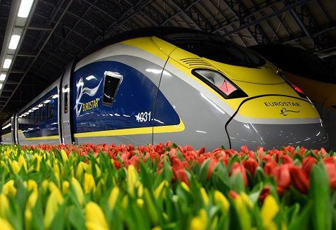 Image showing Siemens Eurostar train
